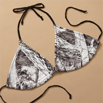 Naked North Snow Camo String Bikini