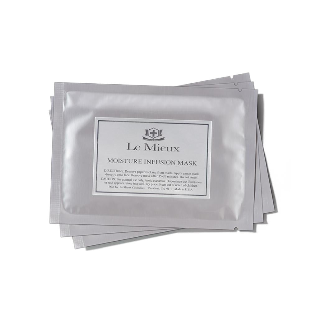 Le Mieux Moisture Infusion Mask - Hydrating, Serum-Infused Face Masks with Peptides