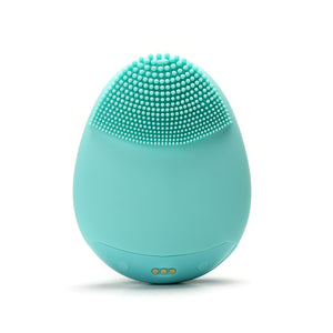 Hello Glow! MY DERMATICIAN Vibrating Sonic Care Facial Cleansing Brush Teal