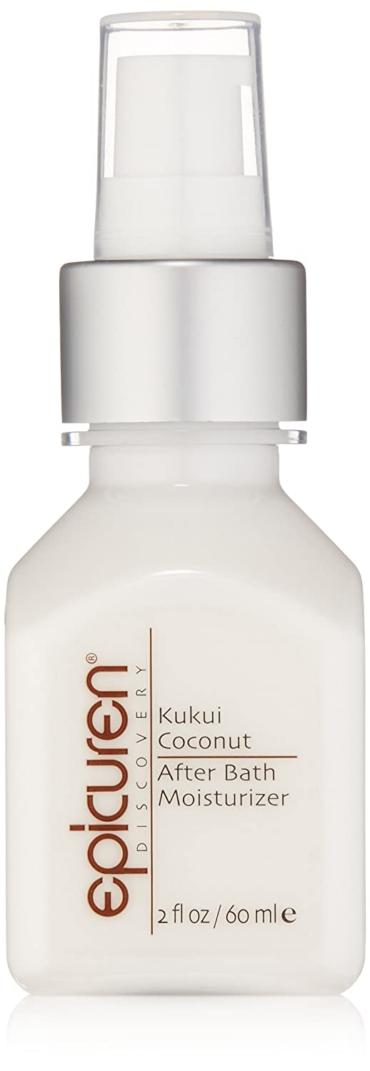 Epicuren Discovery KUKUI COCONUT After Bath Body Moisturizer 2 oz