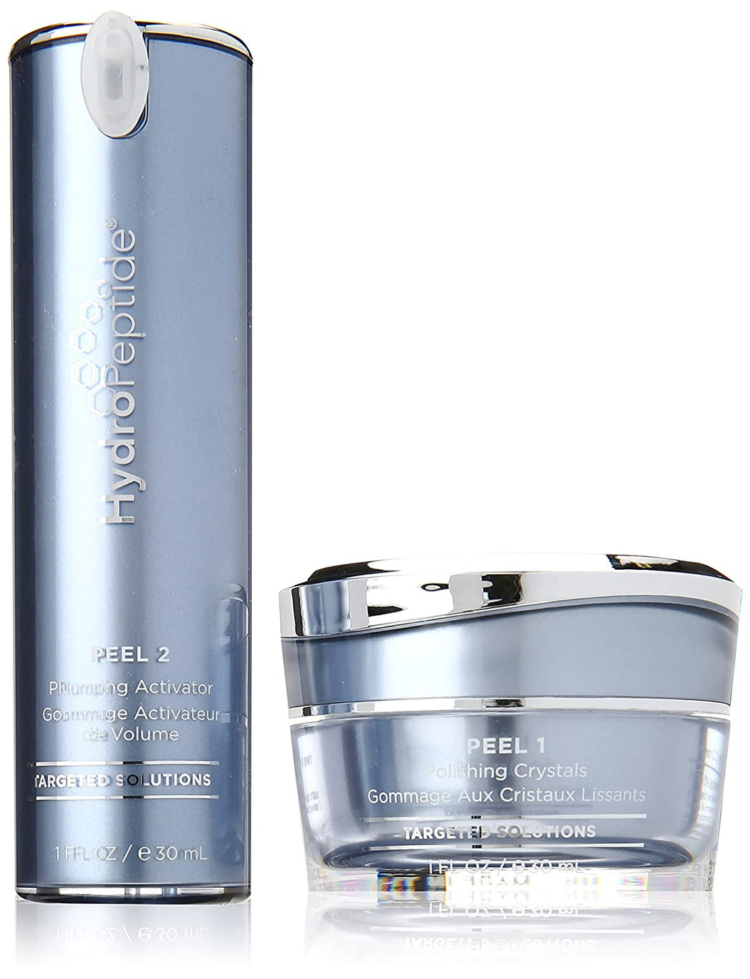 HydroPeptide Polish & Plump Face Peel 2 Step System