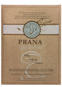 Prana SpaCeuticals Mushroom Preventive Collection Kit European Beauty by B