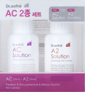 Dr.esthe AC Solution 30ML with A2 Solution Set