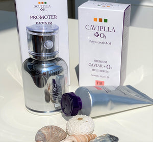 CAVIPLLA O2 Multi Serum with Promoter Repair Cell Cream