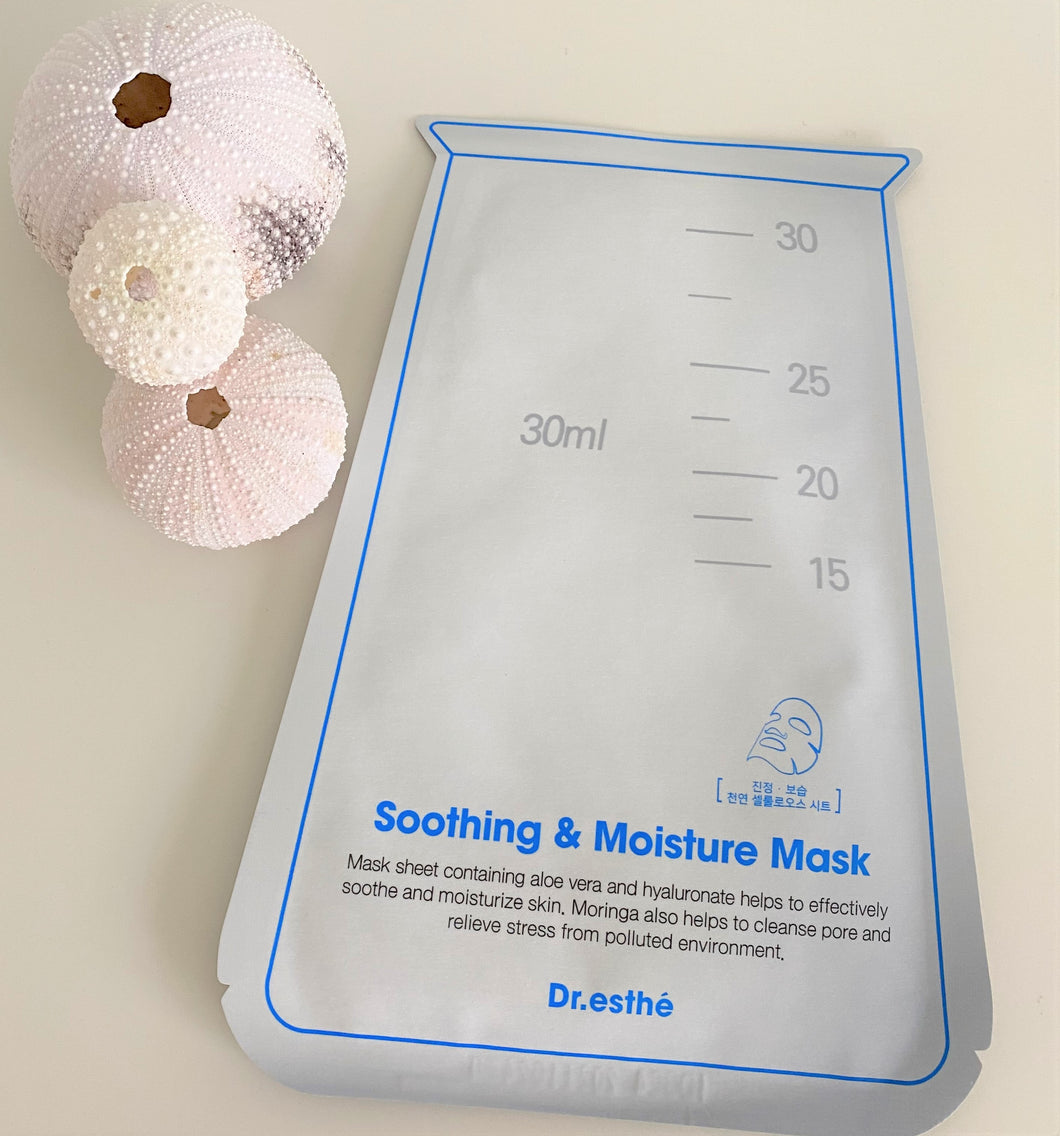 Dr.esthe Soothing & Moisture mask 1pc