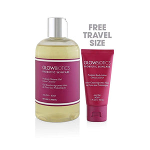 Glowbiotics Probiotic Shower Gel Citrus Coconut