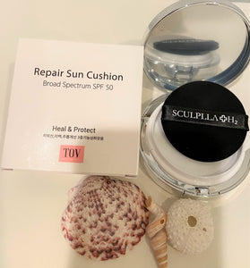 SCULPLLA H2 Repair Sun Cushion Broad Spectrum SPF 50