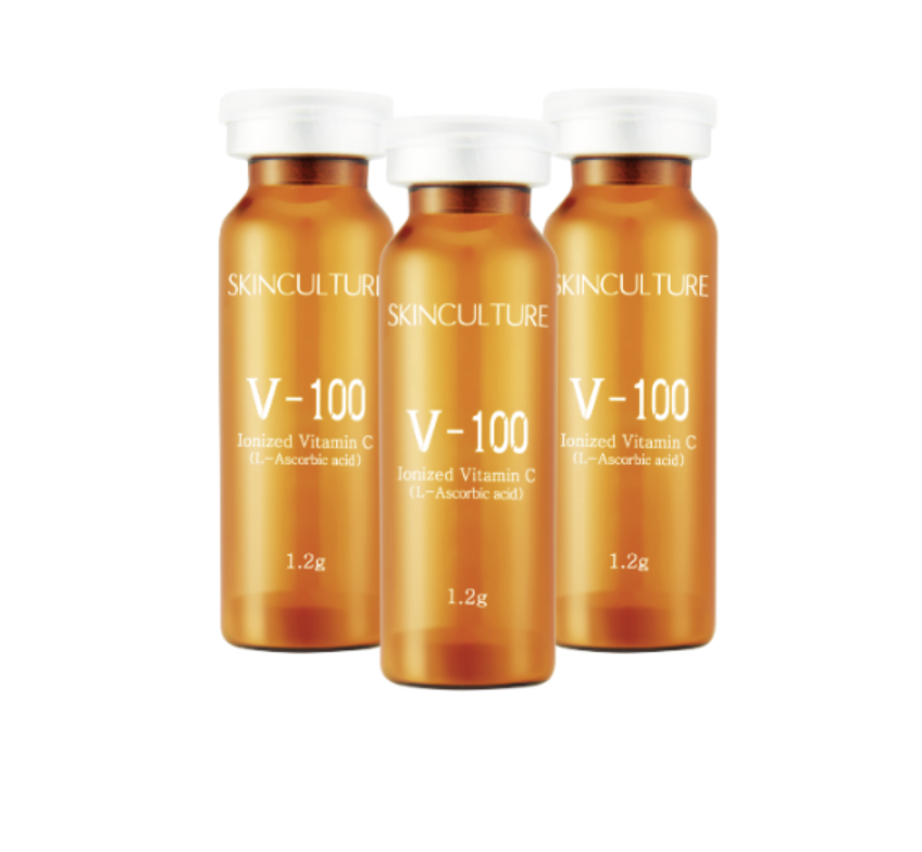 Skinculture V-100 Ionized Vitamin Powder 1.2G X 5 VIALS