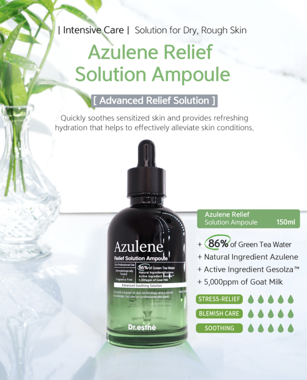 Dr.esthe Azulene Relief Solution Ampoule 150ml