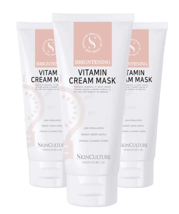 Skinculture Brightening Vitamin Cream Mask 250ml