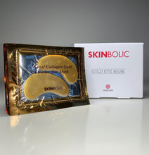 Load image into Gallery viewer, Skinbolic Gold Eye Mask