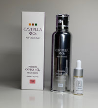 Load image into Gallery viewer, CAVIPLLA +O2  Premium Caviar Multi Serum  Caviar + PLLA with NeoGenesis Recovery 10ml
