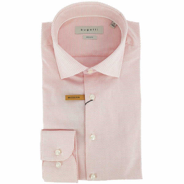 bugatti Casual Shirt in Pastel Pink