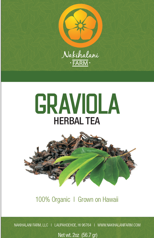 Graviola Tea 2oz - Hawaiian Grown