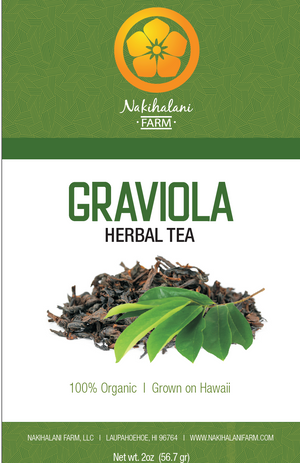 Load image into Gallery viewer, Graviola Tea 2oz - Hawaiian Grown