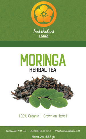 Moringa Tea 2oz - Hawaiian Grown