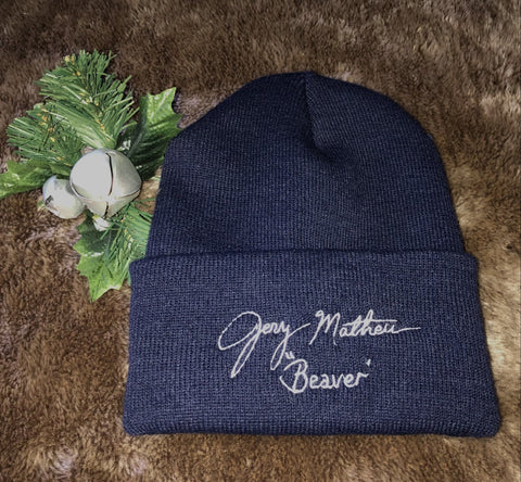 Jerry's Signature Knit Cap (Navy)