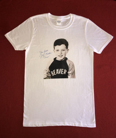 Leave it to Beaver Vintage signed shirt