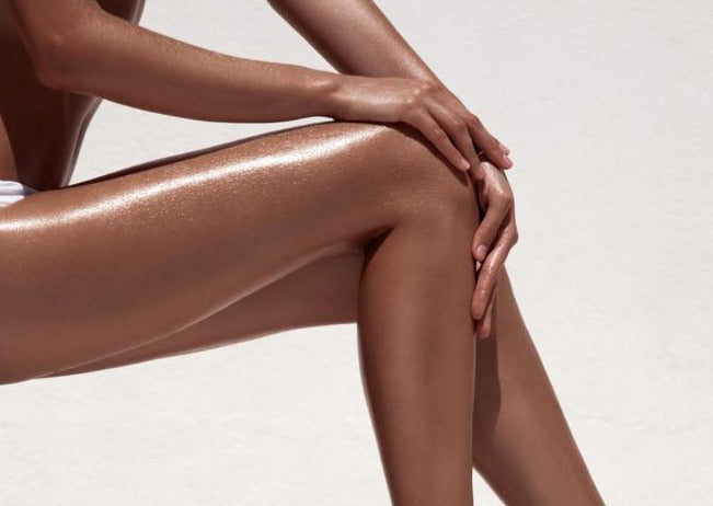 Legs 11 - Airbrush Spray Tanning - Beauty Bar Therapy