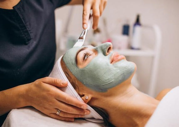 Monthly Maintenance Skincare Facial with Vitamin C Latex Mask - Beauty Bar Therapy