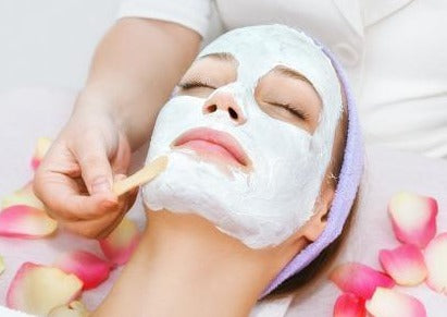 Monthly Maintenance Skincare Facial with Brightening Latex Mask - Beauty Bar Therapy