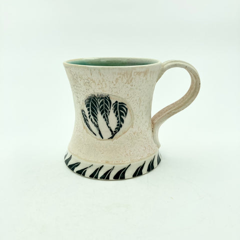 Mug with Patterned Circles