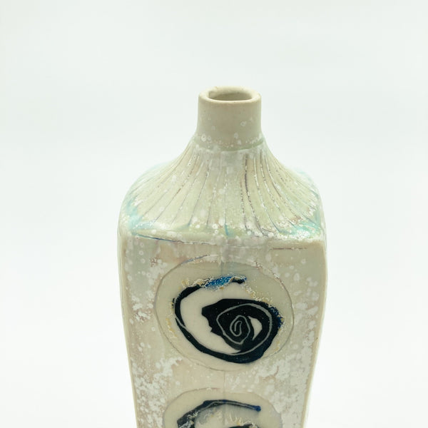 Vase with Patterned Circles