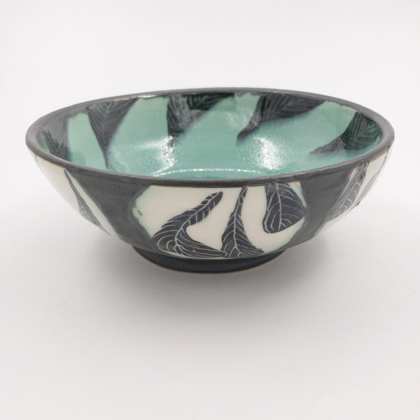 Bowl with Patterned Circles