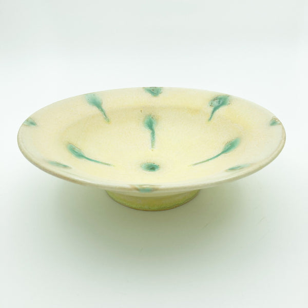 Serving Bowl with Dot Pattern
