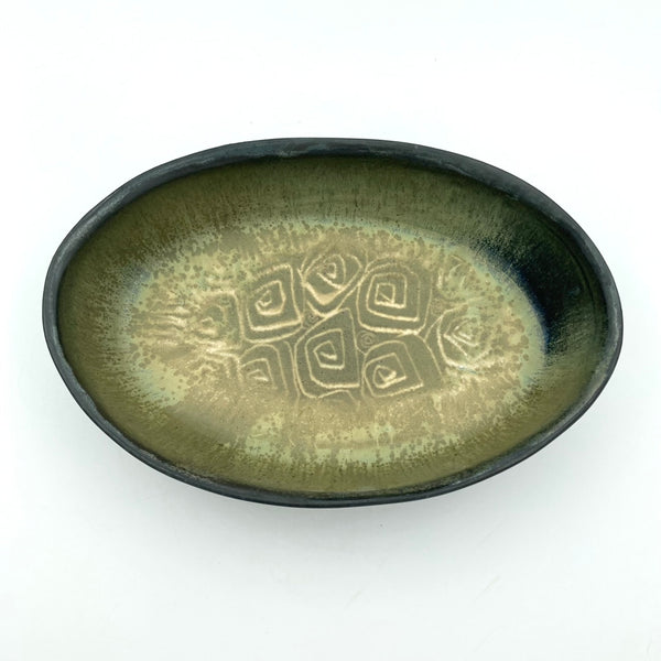 Low Oval Dish