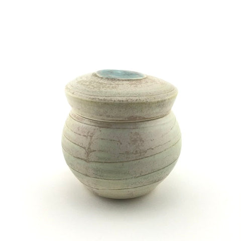 Sustainable Storage Jar with Spiral Design
