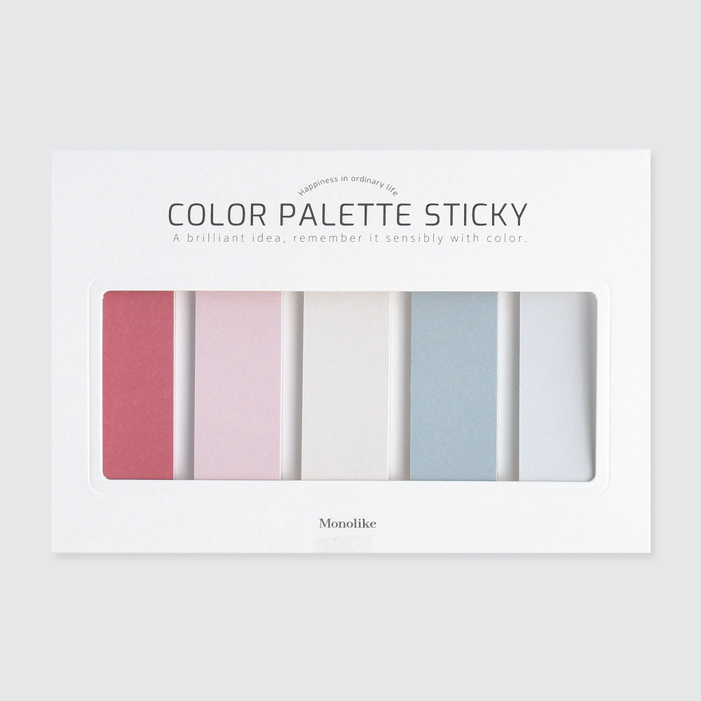 Color palette Sticky 505 506 507 508 - カラーパレットふせん