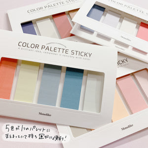 Color palette Sticky Solid 501