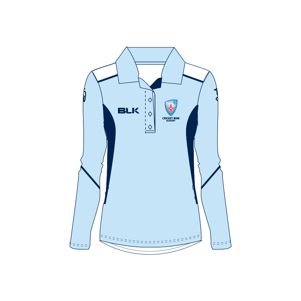 Cricket NSW Academy Training LS Polo Ladies