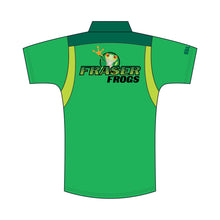 Load image into Gallery viewer, Caboolture SHS Mens Fraser Frogs Polo