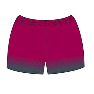 Hockey Queensland Lycra Crop Shorts