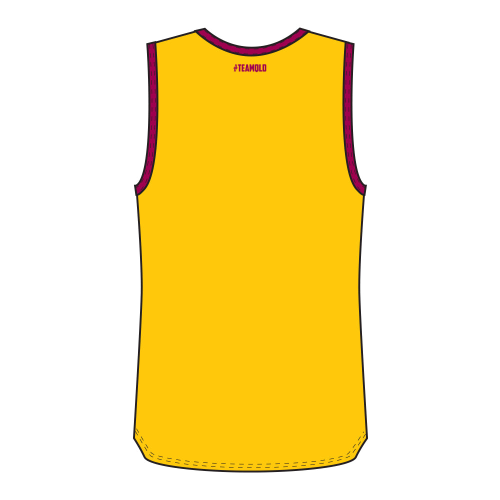 Hockey Queensland Reversible Training Singlet Mens