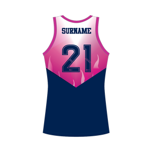 TOOWOOMBA HOCKEY ASSOC ON FIELD SINGLET - LADIES