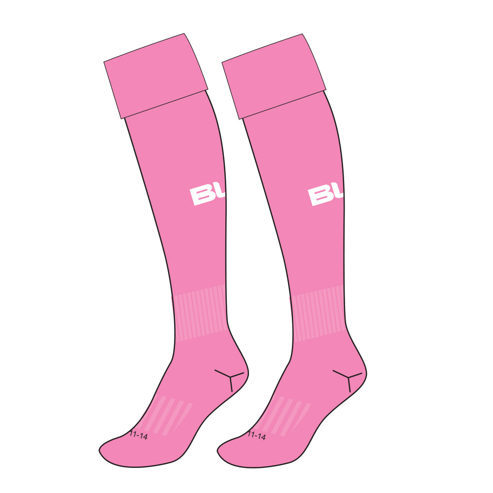 TOOWOOMBA HOCKEY ASSOC HOTPINK SOCK - US SIZES