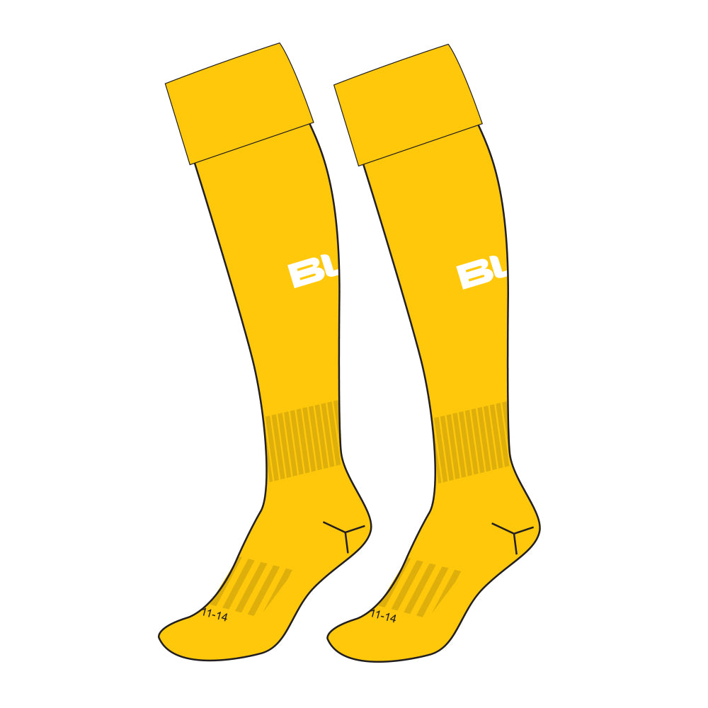 TOOWOOMBA HOCKEY ASSOC GOLD SOCK - US SIZES