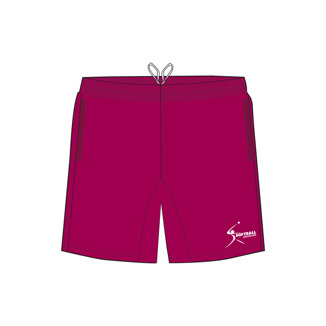 Softball Queensland Ladies Training Shorts