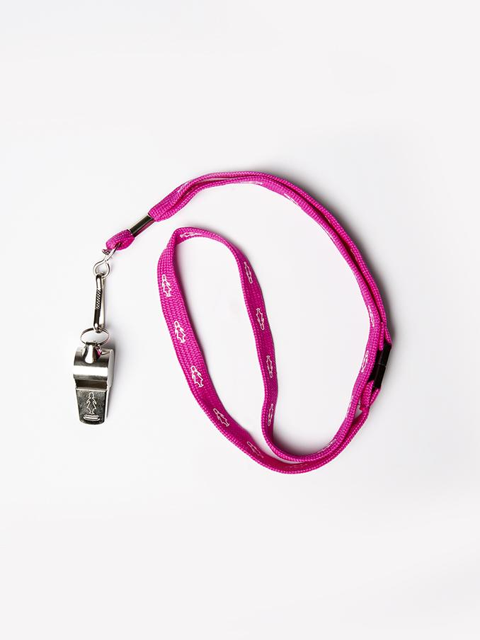 BCNA Whistle on Lanyard