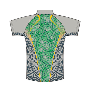 Wynnum CC Club Indigenous Polo Mens