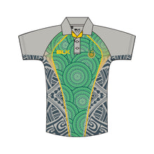 Load image into Gallery viewer, Wynnum CC Club Indigenous Polo Mens