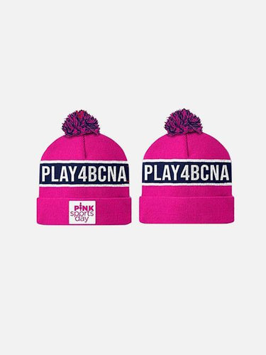Pink Sports Day Play4Bcna Beanie Accessory