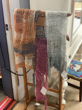 Load image into Gallery viewer, Hand knitted scarve