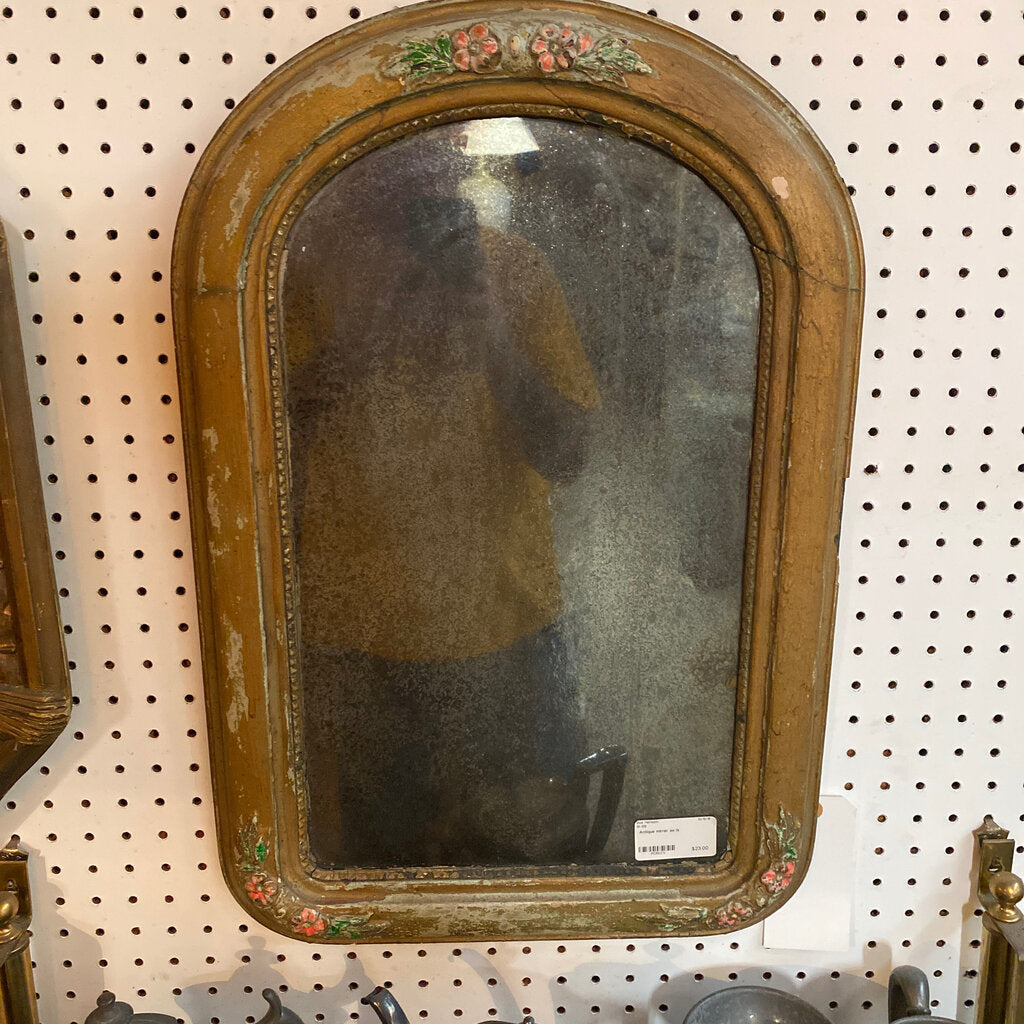 Antique mirror as is