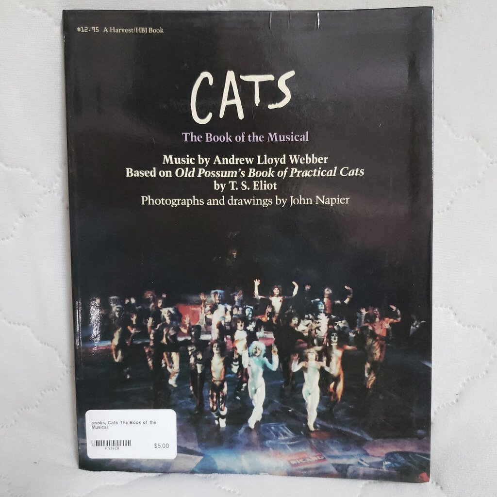 books, Cats The Book of the Musical