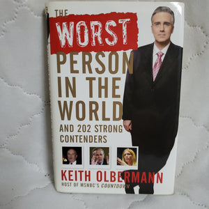 Books, The worst Person In The World by Keith Olbermann