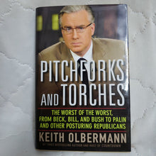 Load image into Gallery viewer, Books, Pitchforks and Torches by Keith Olbermann